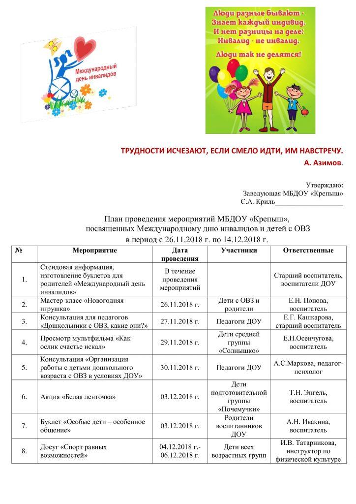 Аналитический отчет, план проведения мероприятий, фотоотчет (Международный день инвалидов и детей с ОВЗ)_003